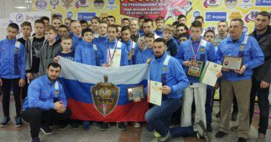 Иван Мурадов — победитель  Первенства России по рукопашному бою