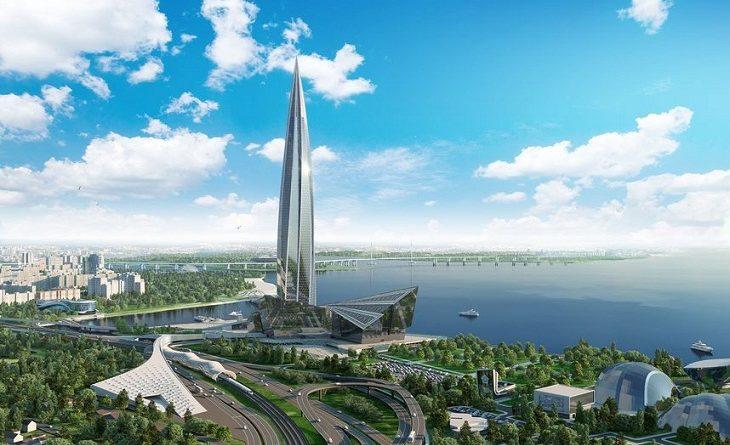 Башню «Лахта центр» в Петербурге планируют ввести в эксплуатацию в конце 2018 г.