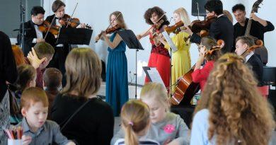 В Детской деревне-SOS прошел «Раскрась-концерт»